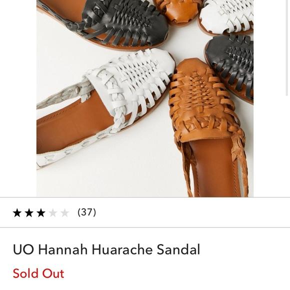 Uo Hannah Huarache Sandal